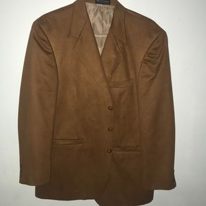 Men's  Option By Stafford Ultra Suede Sportcoat